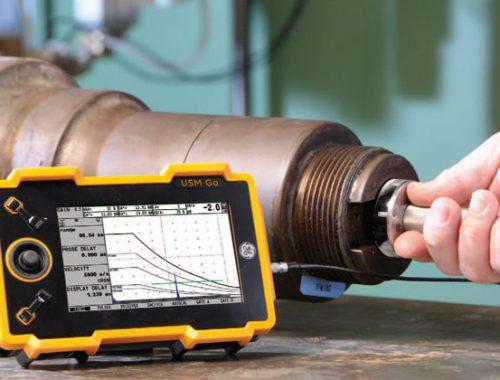 Ultrasonic inspection of shaft